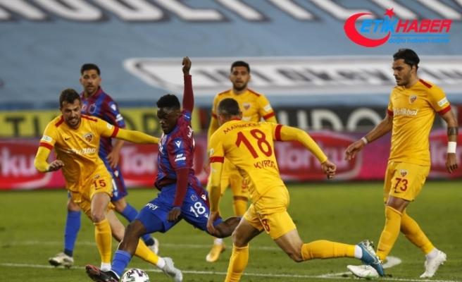 Süper Lig: Trabzonspor: 1 - Hes Kablo Kayserispor: 1 (Maç sonucu)