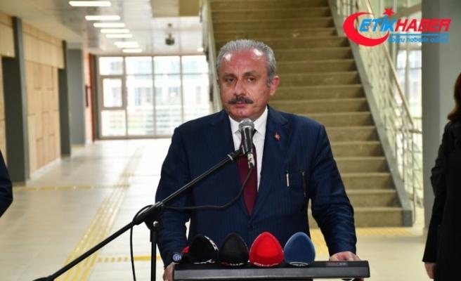 TBMM Başkanı Mustafa Şentop, Kuzey Makedonya Adalet Bakanı Marichijk'i kabul etti
