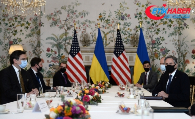 Ukrayna Dışişleri Bakanı Kuleba, ABD'li mevkidaşı Blinken ile görüştü