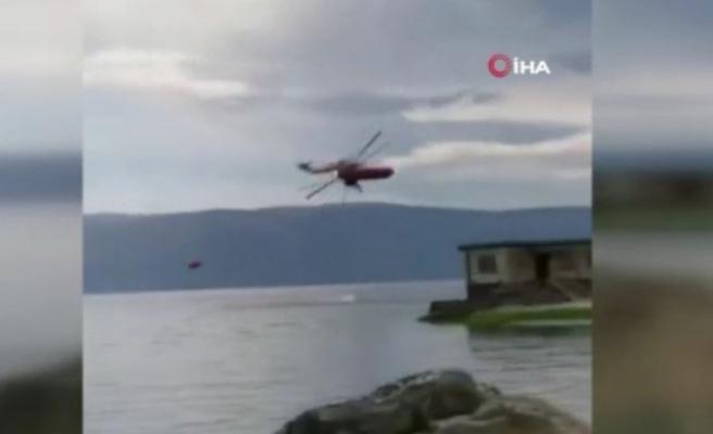 Çin'de helikopter düştü: 4 ölü