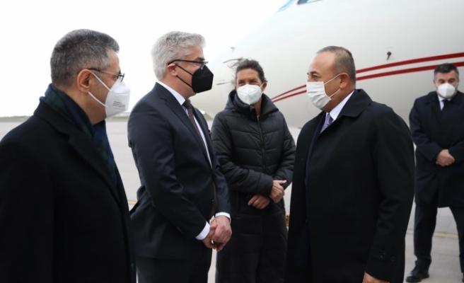 Dışişleri Bakanı Çavuşoğlu Almanya'da