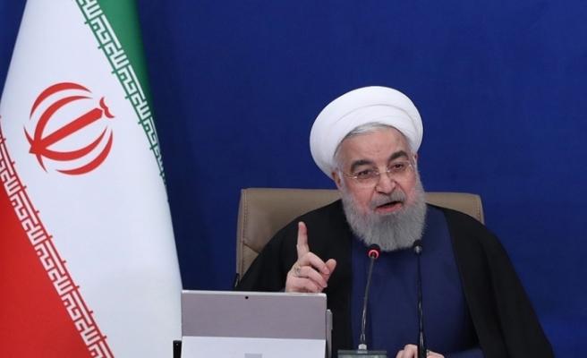"""İran Cumhurbaşkanı Ruhani: """"ABD'nin İran'a yönelik yaptırımları kısa zamanda kalkacak"""""""