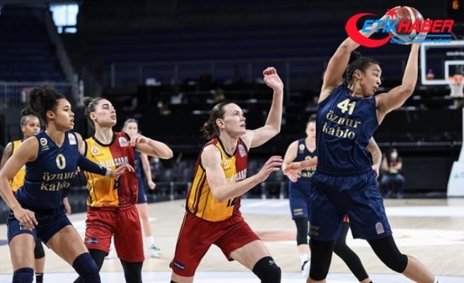 Kadınlar Basketbol Süper Ligi'nde Fenerbahçe Öznur Kablo şampiyon oldu