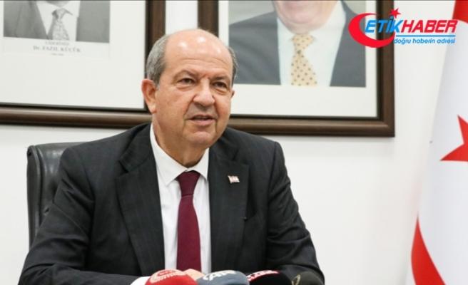 """KKTC Cumhurbaşkanı Tatar'dan """"Anastasiadis küstah görmek istiyorsa aynaya bakmalı"""" yanıtı"""