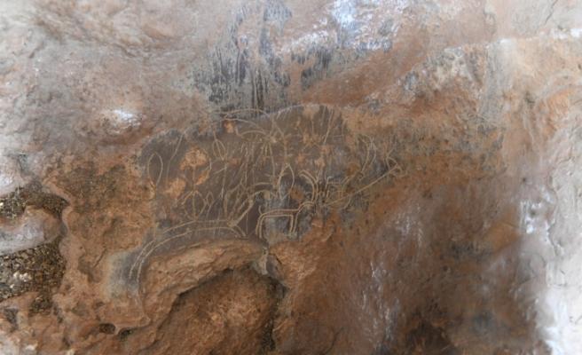 Mersin'de bir mağarada bulunan 8 bin yıllık kaya resimleri için ilk adım atılıyor
