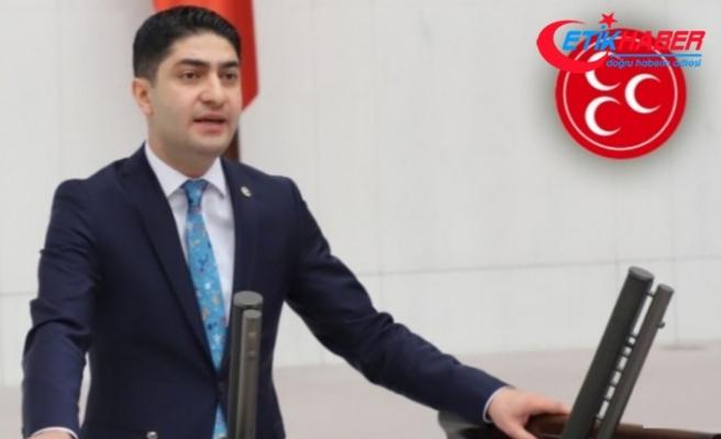 MHP'li Özdemir: Aklınızca siyasete ayar vermeye cüretini nerden buluyorsunuz?