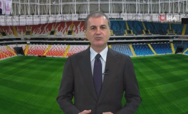 """Ömer Çelik: """"Atılan bütün iftiralara rağmen Adana Demirspor iyi oynayarak bu başarıları elde ediyor"""""""