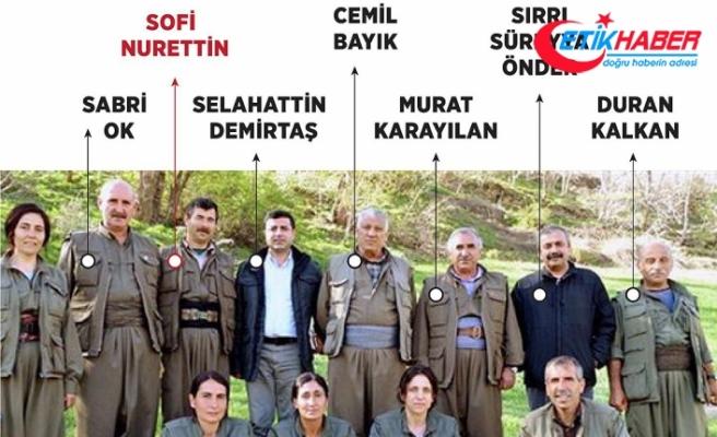 'Sofi Nurettin'in PKK'nın sözde askeri konseyinde etkisiz hale getirilen en üst düzey terörist olduğu belirlendi