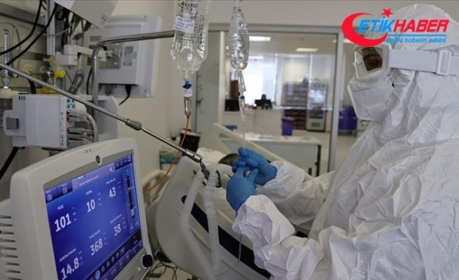 Son 24 saatte korona virüsten 347 kişi hayatını kaybetti