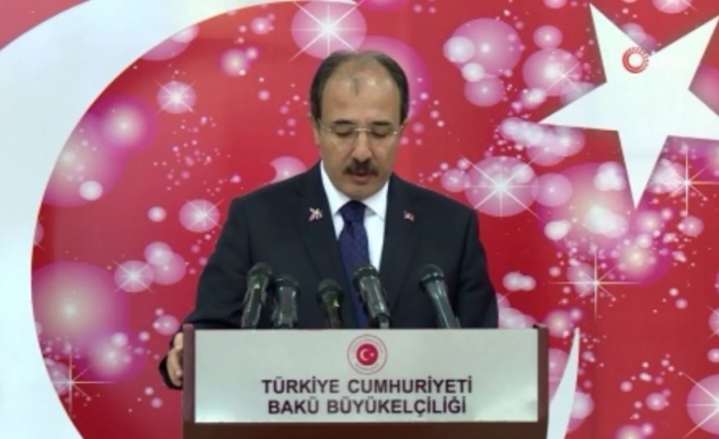 """""""Türkiye tereddütsüz Azerbaycan'ın yanında olmaya ve destek vermeye devam edecek"""""""