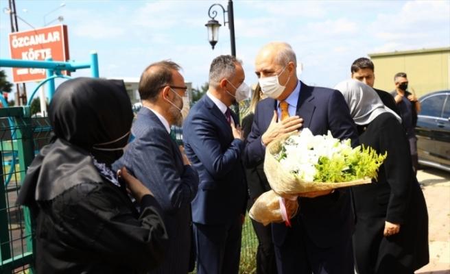 AK Parti Genel Başkanvekili Numan Kurtulmuş Tekirdağ'da gündemi değerlendirdi: