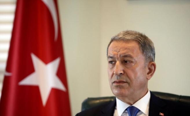 Milli Savunma Bakanı Akar, Mecliste gazetecilerin sorularını yanıtladı
