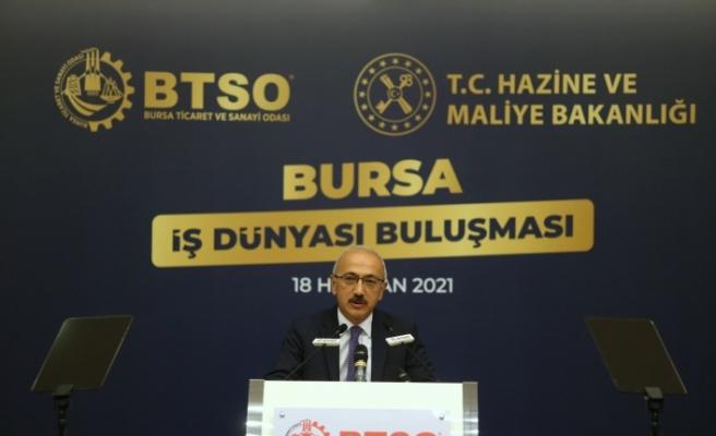 """Bakan Elvan: """"Enflasyonla mücadele tüm politikalarımızın merkezinde yer alıyor"""""""