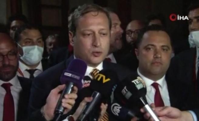 """Burak Elmas: """"Bugün biz kazanmış olabiliriz ama Galatasaray'da kimse kaybetmedi"""""""