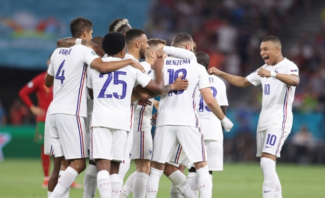 Fransa son 16'ya lider çıktı