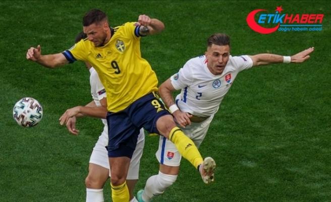 İsveç, Slovakya'yı penaltıdan bulduğu golle yendi