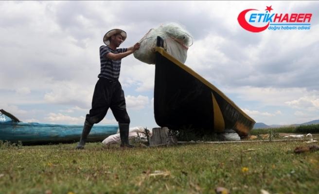 """Konya'da tatlı su balıkçıları """"vira bismillah"""" dedi"""