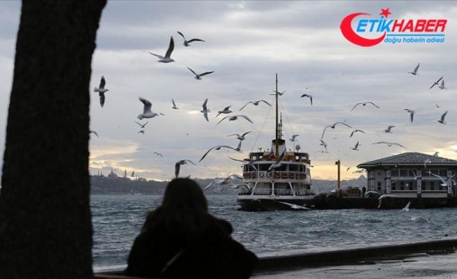 Marmara'da parçalı ve çok bulutlu hava bekleniyor