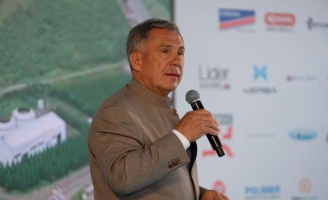 Tataristan Cumhurbaşkanı Rüstem Minnihanov'dan Türkiye'ye yatırım mesajı