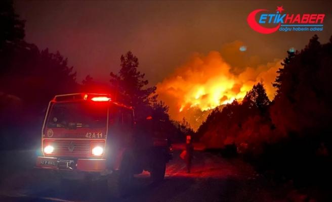 Akseki Kaymakamı Hülür: Yangın Kepezbelen Mahallesi'nde kısmen kontrol altına alındı
