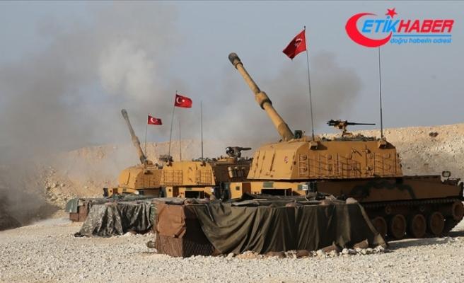 Barış Pınarı bölgesine yönelik havan saldırısına karşılık verilmesi sonucu, 5 terörist etkisiz hale getirildi