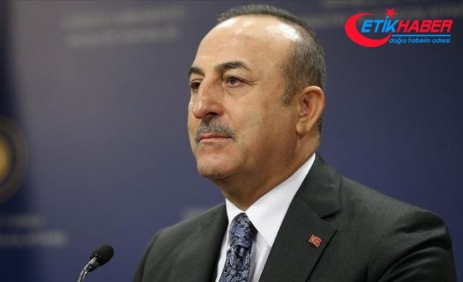 Dışişleri Bakanı Çavuşoğlu'ndan, 28 kişinin hayatını kaybettiği kaza nedeniyle Pakistan'a başsağlığı diledi