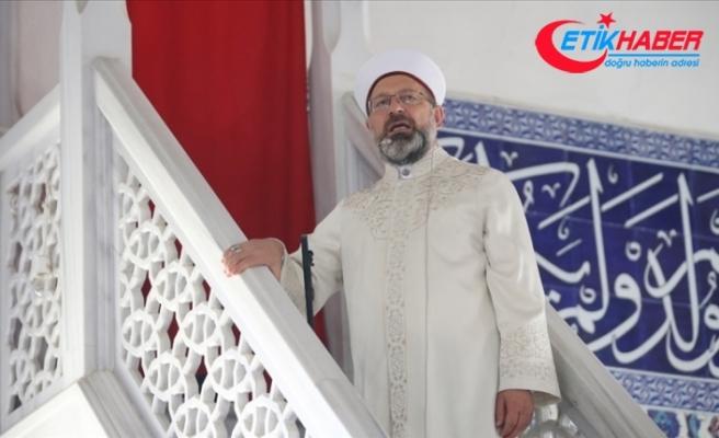 Diyanet İşleri Başkanı Erbaş, Manavgat Külliye Camisi'nde hutbe irat etti
