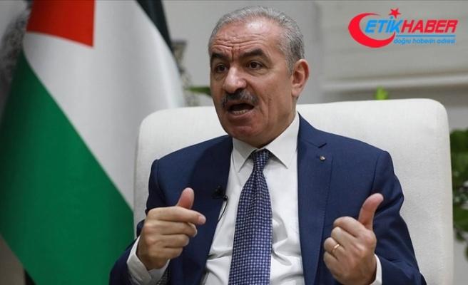 """Filistin Başbakanı Iştiyye'den BM'ye 'Filistin ile ilgili kararları uygulayın"""" çağrısı"""
