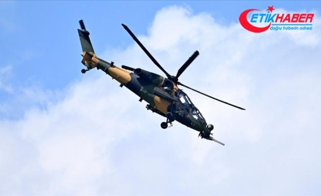 Irak'ın kuzeyinde PKK'lı 5 terörist ATAK helikopterleri tarafından etkisiz hale getirildi
