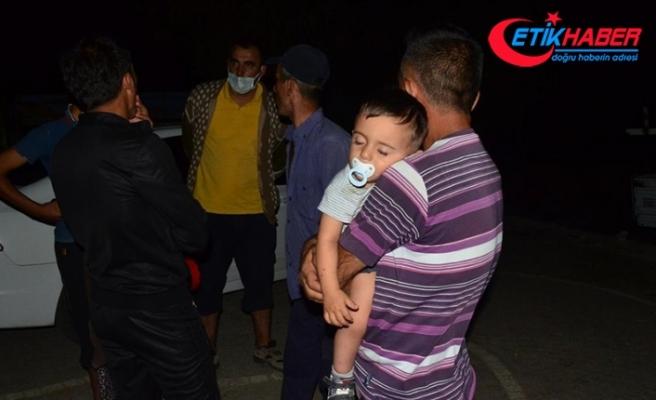 Manavgat'ta yangının yayılması nedeniyle bir mahalle daha boşaltıldı