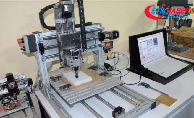MEB'in mesleki eğitim Ar-Ge merkezinde 'CNC Router Makinesi' üretildi
