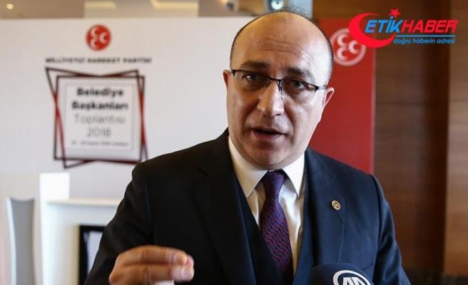 MHP'li Yönter: AKEL mensubu Akıncı'nın ENOSİS emelleri Kıbrıs Türklüğünün iradesiyle boğuldu