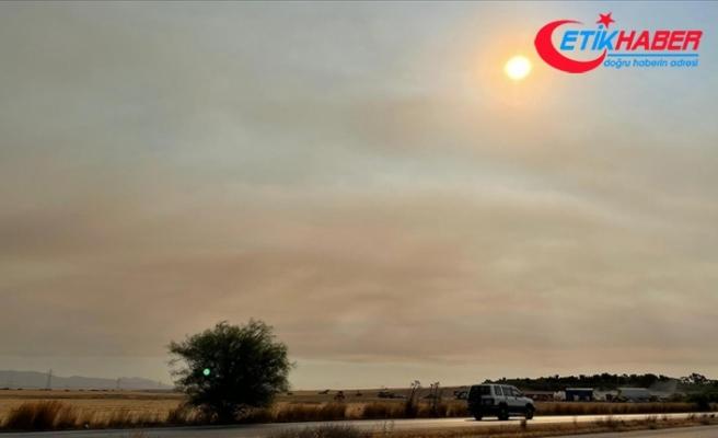 Türkiye'deki orman yangınlarının etkisi KKTC'de hissedildi