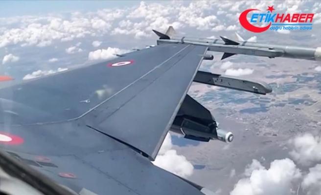 Uçak bombalarının etkinliği milli teknolojiyle artırıldı