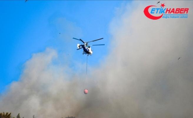 Ülke genelindeki 98 orman yangınının 88'i kontrol altına alındı