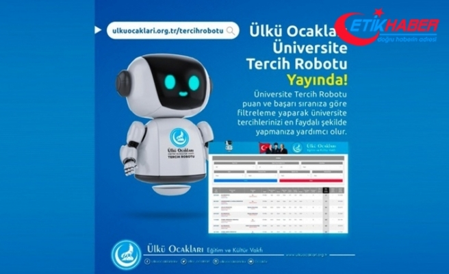 Ülkü Ocaklarından Üniversite ''Tercih Robotu''