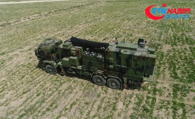 Yeni elektronik harp gücü 'Sancak' Türk Silahlı Kuvvetleri'ne teslim edildi