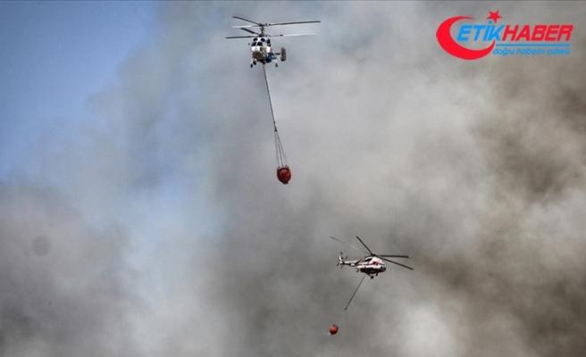 Bakan Pakdemirli: 107 tane orman yangını çıktı, bunun 98'i kontrol altında 9'u devam ediyor