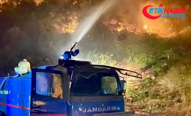 Jandarma Genel Komutanlığı, 4 ildeki orman yangınlarına 2 bin 310 personelle müdahale edildiğini bildirdi