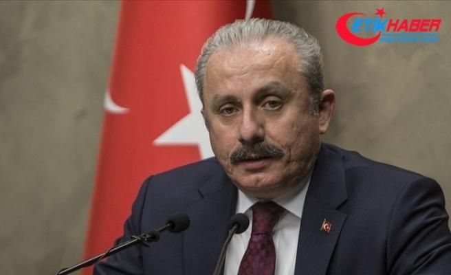 TBMM Başkanı Şentop, Avrasya Medya Forumu'na video mesaj gönderdi