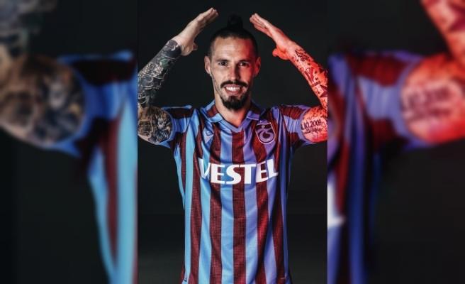 Trabzonsporlu futbolcu Hamsik'in adalesinde ödem tespit edildi