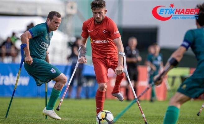 Ampute Futbol Milli Takımı, Avrupa Şampiyonası'nda çeyrek final maçına çıkıyor