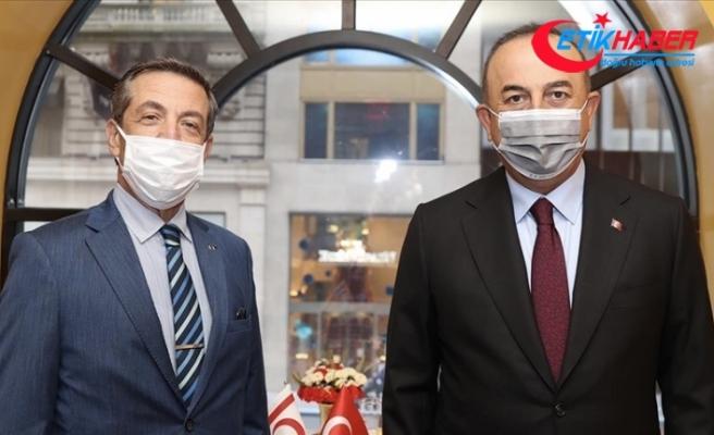 Bakan Çavuşoğlu: Kıbrıs Türk halkının egemen eşitliği ve eşit uluslararası statüsü bir an evvel tescil edilmeli