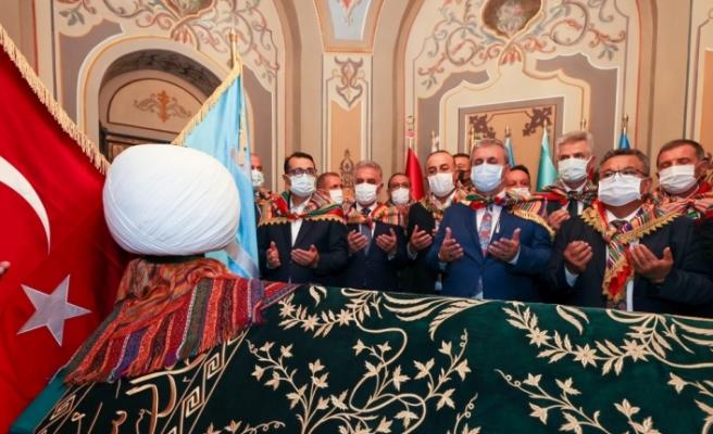 Bakan Dönmez, 740. Söğüt Ertuğrul Gazi'yi Anma ve Yörük Şenlikleri'ne katıldı: