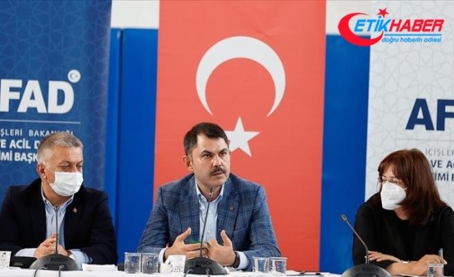 Çevre ve Şehircilik Bakanı Kurum: Antalya ve Muğla'da 2 bin 516 bağımsız birimin acil ağır hasarlı olduğunu tespit ettik