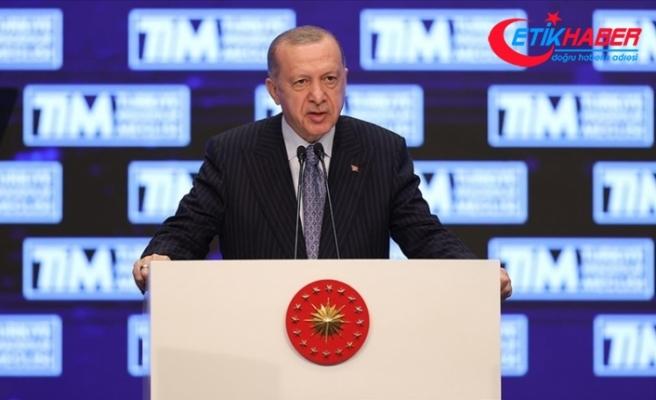 Cumhurbaşkanı Erdoğan: Türkiye dünya ihracatında yüzde 1 pay seviyesine ulaşarak kritik eşiği yakaladı
