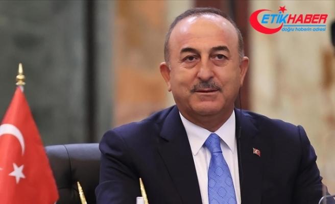 Dışişleri Bakanı Çavuşoğlu: Afganistan'da kapsayıcı bir yapı kurulmasını umuyoruz
