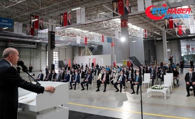 Erdoğan: İHA filomuzu, muharip insansız uçak sistemimizin de devreye girmesiyle dünyanın 1 numarası haline getireceğiz