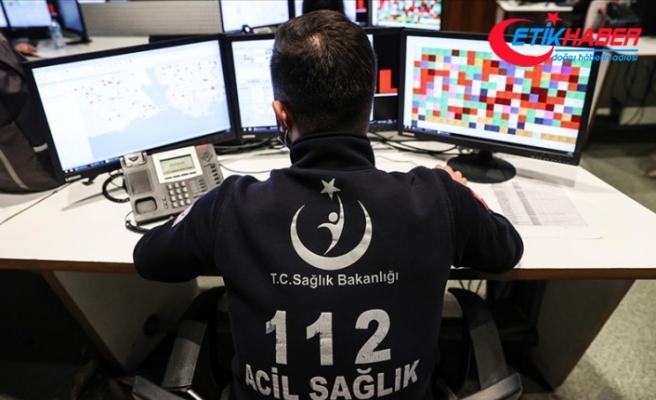 İstanbul'da 112'ye gelen çağrıların yüzde 55'i asılsız çıkıyor