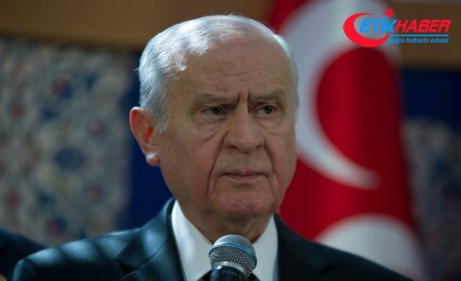MHP Lideri Bahçeli: CHP yönetimi PKK'nın ve FETÖ'nün tuzağında kaybolacaktır